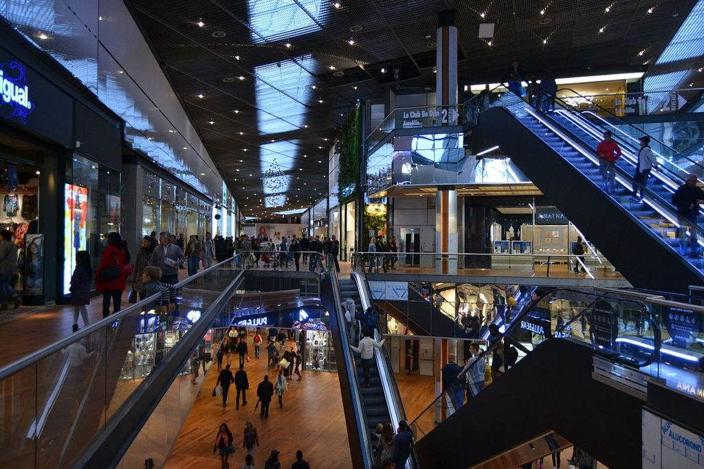 Comptage client- centres commerciaux